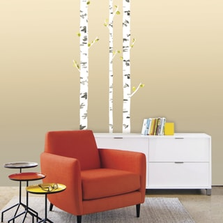 Birch Trio Giant Wall Decals