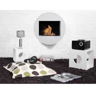 Bio-blaze Qwara Bio-ethanol Wall-mounted Fireplace