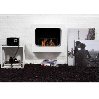 Bio-Blaze Columbus Bio-Ethonal Wall-Mounted Fireplace