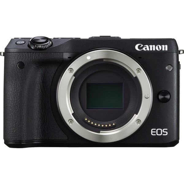 Canon EOS M3 24.2 Megapixel Mirrorless Camera Body Only - Black