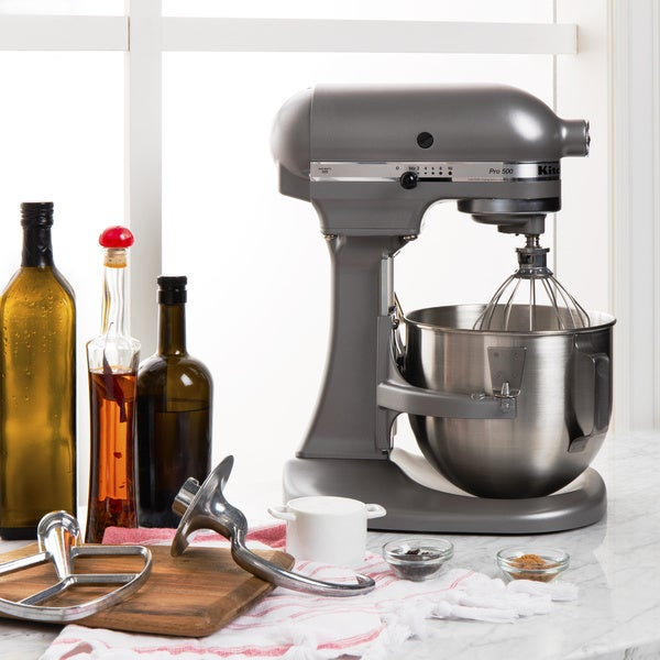 KitchenAid Silver 5-quart Pro 500 Bowl-Lift Stand Mixer