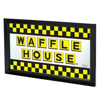 Waffle House Large Framed Logo Mirror