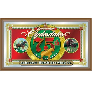 Budweiser Clydesdales 75th Anniversary Mirror