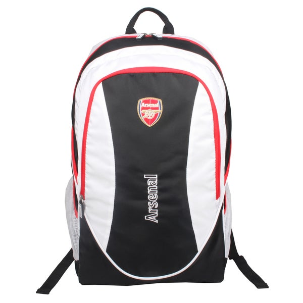 Arsenal Black / White Team 15-inch Laptop Backpack
