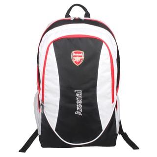 Arsenal Black / White Team 15-inch Laptop Backpack