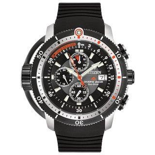 Citizen Men's BJ2128-05E Eco-Drive Promaster Depth Meter Chronograph Watch