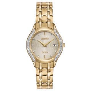 Citizen Women's GA1062-51P Eco-Drive Diamond Watch