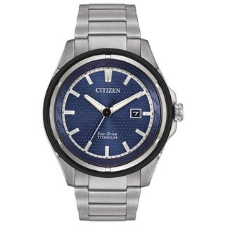 Citizen Men's AW1450-89L Eco-Drive Ti + IP Watch