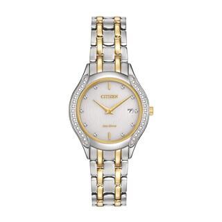 Citizen Women's GA1064-56A Eco-Drive Diamond Watch