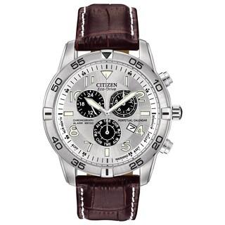Citizen Men's BL5470-06A Eco-Drive Perpetual Calendar Chronograph Watch