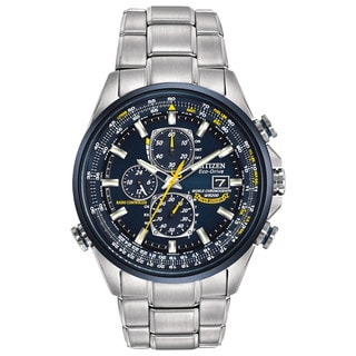 Citizen Men's AT8020-54L Eco-Drive Blue Angels World Chronograph AT Watch