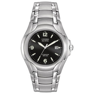 Citizen Men's BM6060-57F Eco-Drive Titanium Watch