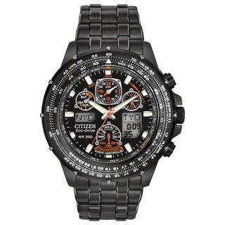 Citizen Men's JY0005-50E Eco-Drive Black Eagle Skyhawk AT Watch
