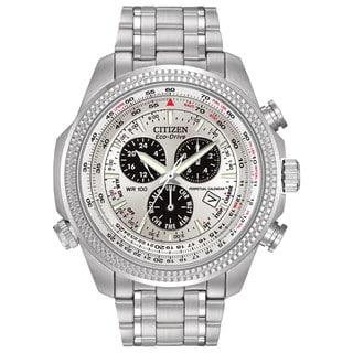 Citizen Men's BL5400-52A Eco-Drive Perpetual Calendar Chronograph Watch