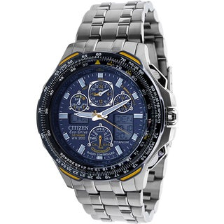 Citizen Men's JY0050-55L Eco-Drive Blue Angels Skyhawk AT Watch