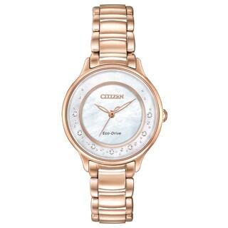 Citizen Women's EM0382-86D Eco-Drive Circle of Time Watch