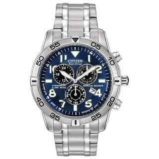 Citizen Men's BL5470-57L Eco-Drive Perpetual Calendar Chronograph Watch