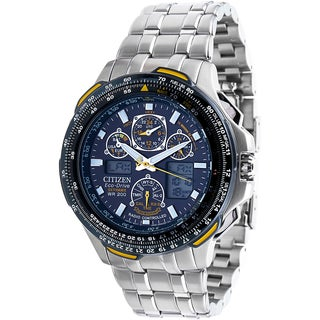 Citizen Men's JY0040-59L Eco-Drive Blue Angels Skyhawk AT Watch
