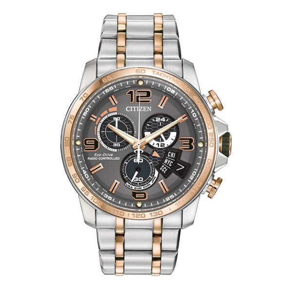 Citizen Eco-Drive Men's Chrono Time AT Watch