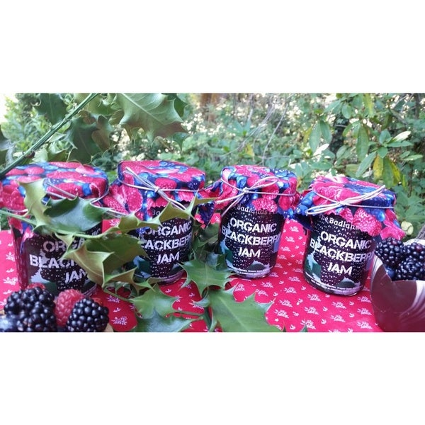 The Badlands Homemade Organic Oregon Wild Blackberry Jam (2 pints)
