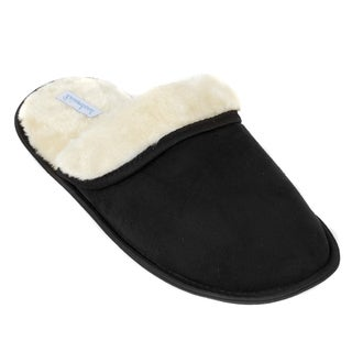 Leisureland Men's Scuff Slip-on Cozy Slippers