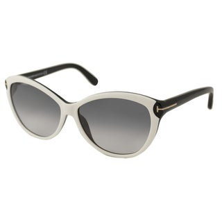 Tom Ford TF0325 Telma Women's Cat-Eye Sunglasses