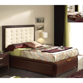Luca Home Twin Platform Storage Bed