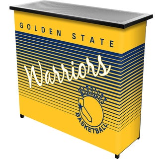 Golden State Warriors Hardwood Classics NBA Portable Bar w/Case