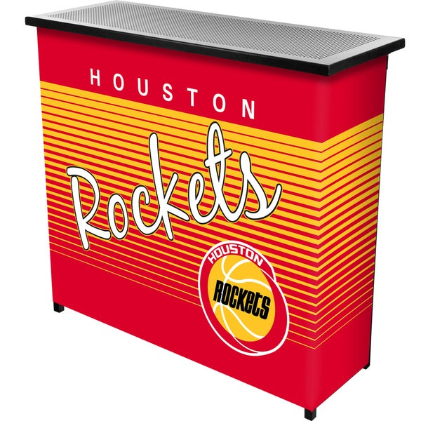 Houston Rockets Hardwood Classics NBA Portable Bar w/Case