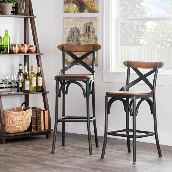Kosas Home Dixon Rustic Brown And Black Reclaimed Pine And