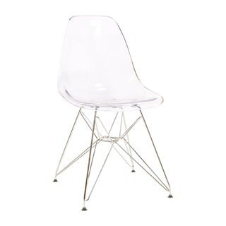 Eames DSR Style Acrylic Side Chair