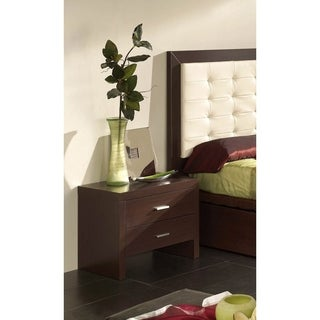 Luca Home 2-drawer Nightstand