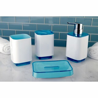 Ocean 4-Piece Bath Accessory Set