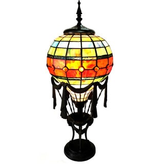 Chloe Tiffany Style 1-light Antique Bronze Table Lamp