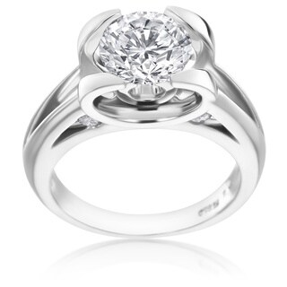 SummerRose Platinum 1 7/8ct TDW Diamond Ring (D-E, SI2)