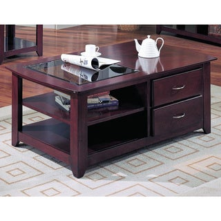 LYKE Home Adelle 2-drawer Cocktail Table