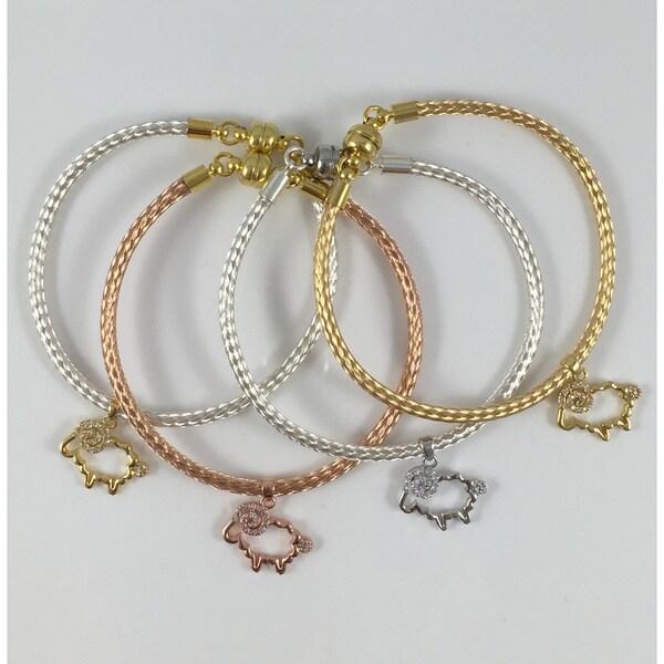 Bella Firenze CZ Charm Bracelets