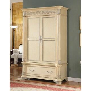 Meridian Solid Wood Sienna Armoire