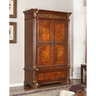 Meridian Solid Wood Royal Armoire