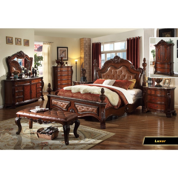 Meridian Luxor Bedroom Set