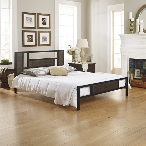 Posture Support Grandview Black Platform Bed