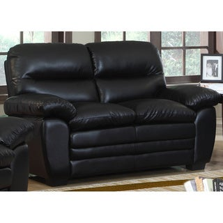 Meridian Soho Loveseat with Plush Pillow Arms
