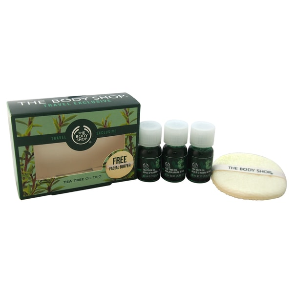 The Body Shop Tea Tree Oil Trio 4-piece Kit