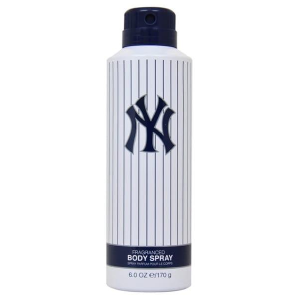 New York Yankees Men's 6-ounce Body Spray