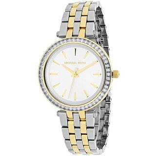 Michael Kors Women's MK3405 'Darci' Crystal Two-Tone Stainless Steel Watch