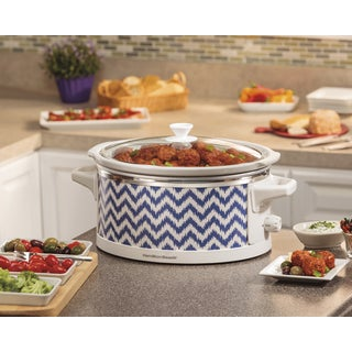 Hamilton Beach 33760A Wrap & Serve 6 Quart Slow Cooker