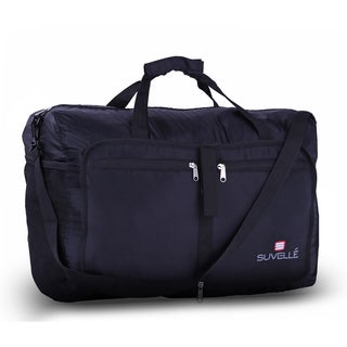 Suvelle Large 21-inch Water-resistant Nylon Foldable Duffel Bag