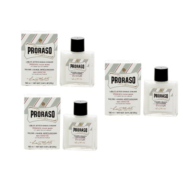 Proraso Liquid 3.4-ounce After Shave Cream