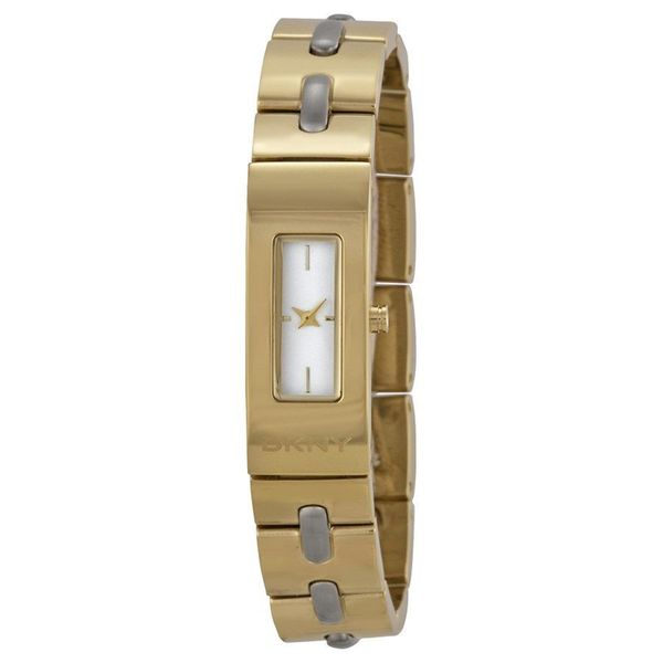 DKNY Women's NY2140 'Astoria Stitch' Gold-Tone Stainless Steel Watch