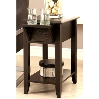 Optimum Casual Cappuccino Phone Stand/ Snack Side Table